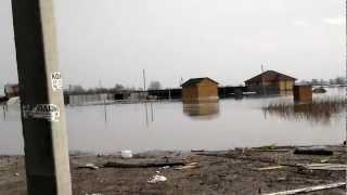 Дачный поселок Золотая подкова весна 2012
