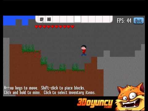 Minecraft 2D Online - 3D Oyuncu - 3D Macera Oyunları