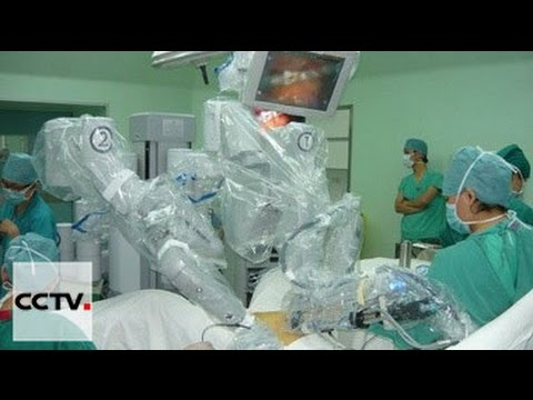 В Китае все большую популярность приобретает роботизированная хиругия