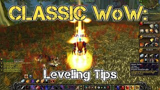 Classic WoW   Leveling Tips