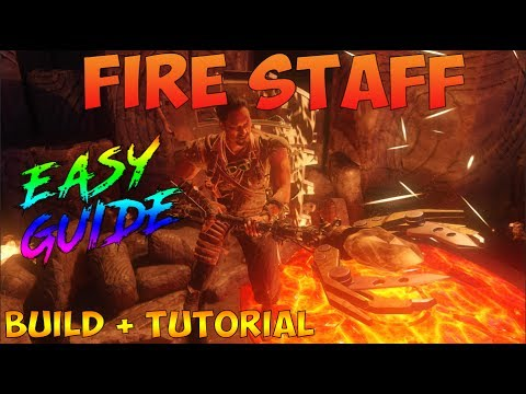 Call of Duty Black Ops 3- Zombies Chronicles, Fire Staff Build Tutorial.
