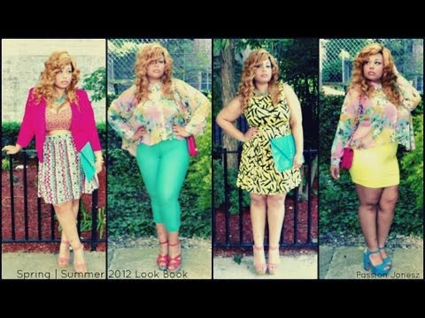 Plus Size Fashion Lookbook SUMMER PLUS SIZE LOOKBOOK