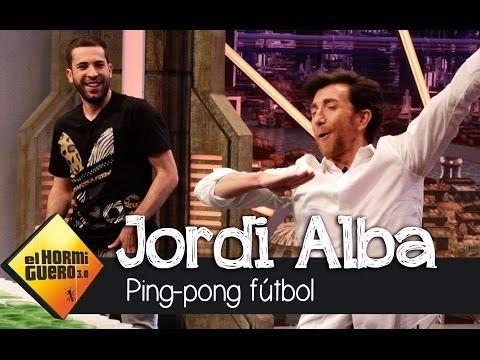 El Hormiguero 3.0 - Jugamos al 'Ping-Pong Fútbol' con Jordi Alba