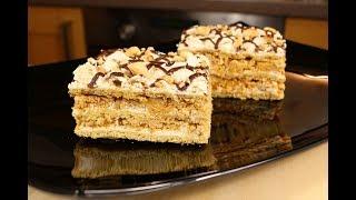 """Праздник В Каждом Кусочке! Торт """"Воздушный сникерс"""" - Просто Тает Во Рту! /Cake """"Air Snickers"""""""