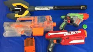 Toy Blasters for Kids Box of Toys Nerf Guns Mega Axe
