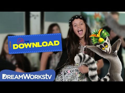 How To Dance Like King Julien | THE DREAMWORKS DOWNLOAD