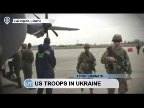 US Troops Arrive in Ukraine: American marines will train 900 fighters from across the country