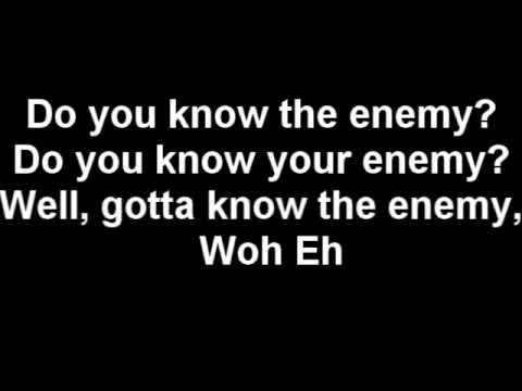 Green Day - Know Your Enemy (lyrics) video