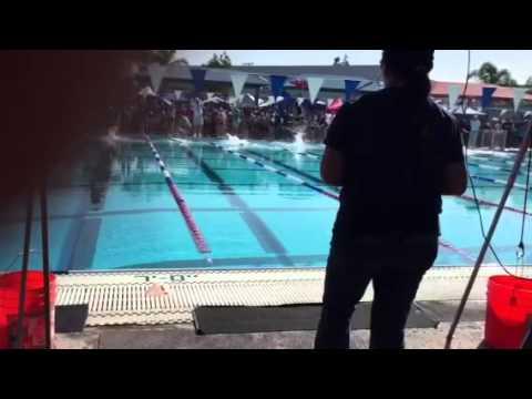 San Fernando Valley Catholic School Swim Meet 2014