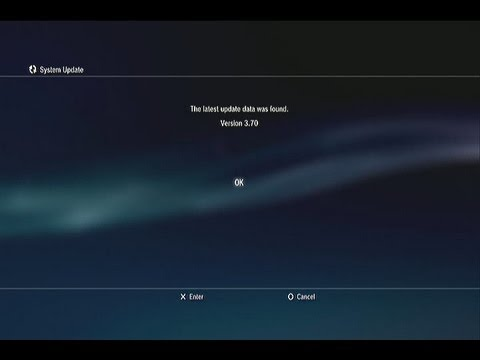 How To: Update your PS3 with a USB Flash Drive