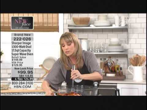 Kelly Diedring Harris presents the Sharper Image Superwave Oven on HSN