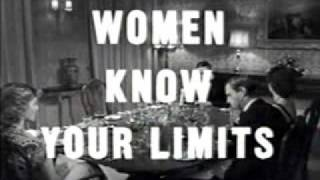 Women Know Your Limits