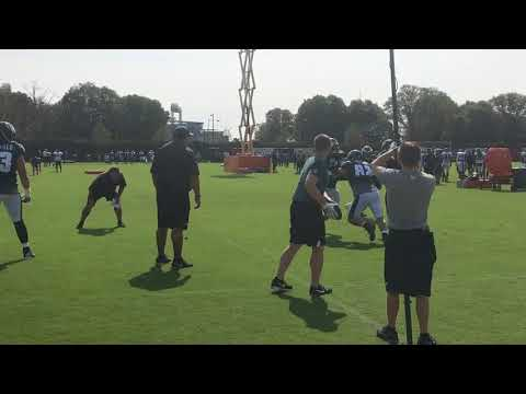 Eagles And Dolphins Hold Joint Practice