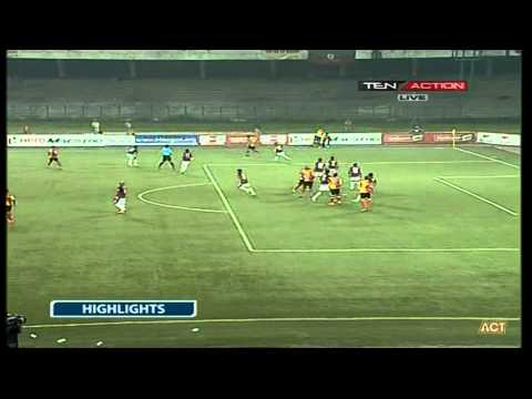 Hero I-League 2015 Kingfisher East Bengal (1) vs Mcdowell Mohun Bagan (1) 17-2-2015