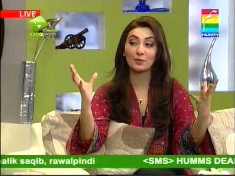 Ayesha Khan in Morning With Hum Tv   P 4