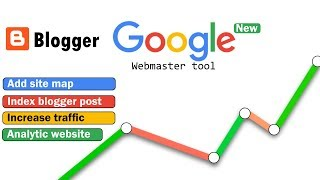 How to use webmaster tool for index blogger post || seo website || google search console || sitemap