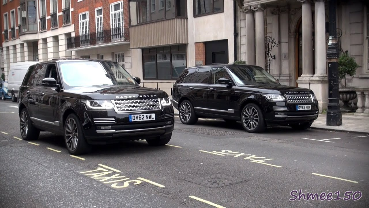 Two 2013 Range Rover Autobiographys In London Land Rover