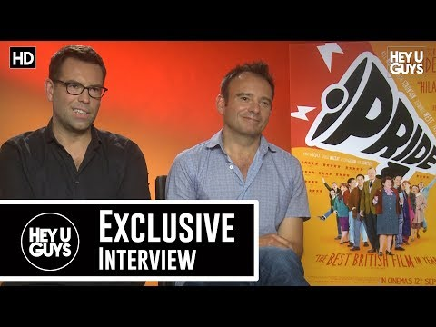 Writer Stephen Beresford & Director Matthew Warchus Interview - Pride