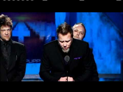 Metallica accepts Induction 2009