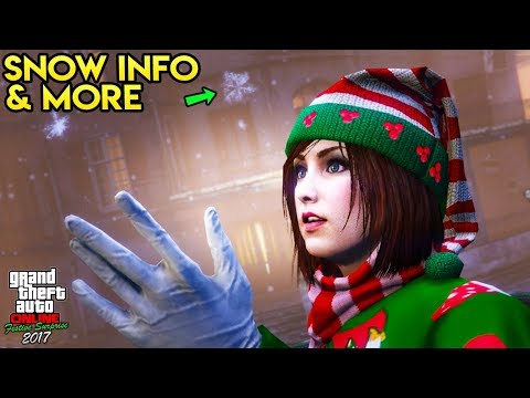 GTA Online: SNOW RELEASE TIME, NEW CAR & MORE FESTIVE SURPRISE 2017 INFO!