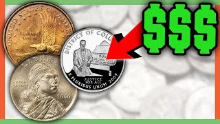 RARE ERROR COINS WORTH MONEY - VALUABLE COINS IN CIRCULATION!!