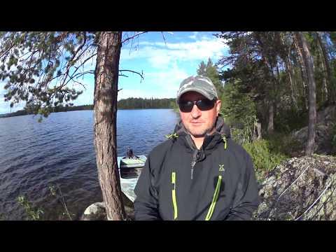 рыбалка в карелии на пяозере 2015 видео