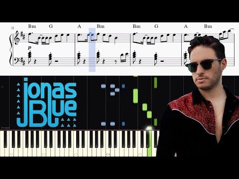 Jonas Blue - Mama - Piano Tutorial + Chords