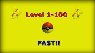 Pokemon Black & White: Level 1-100 FAST!!