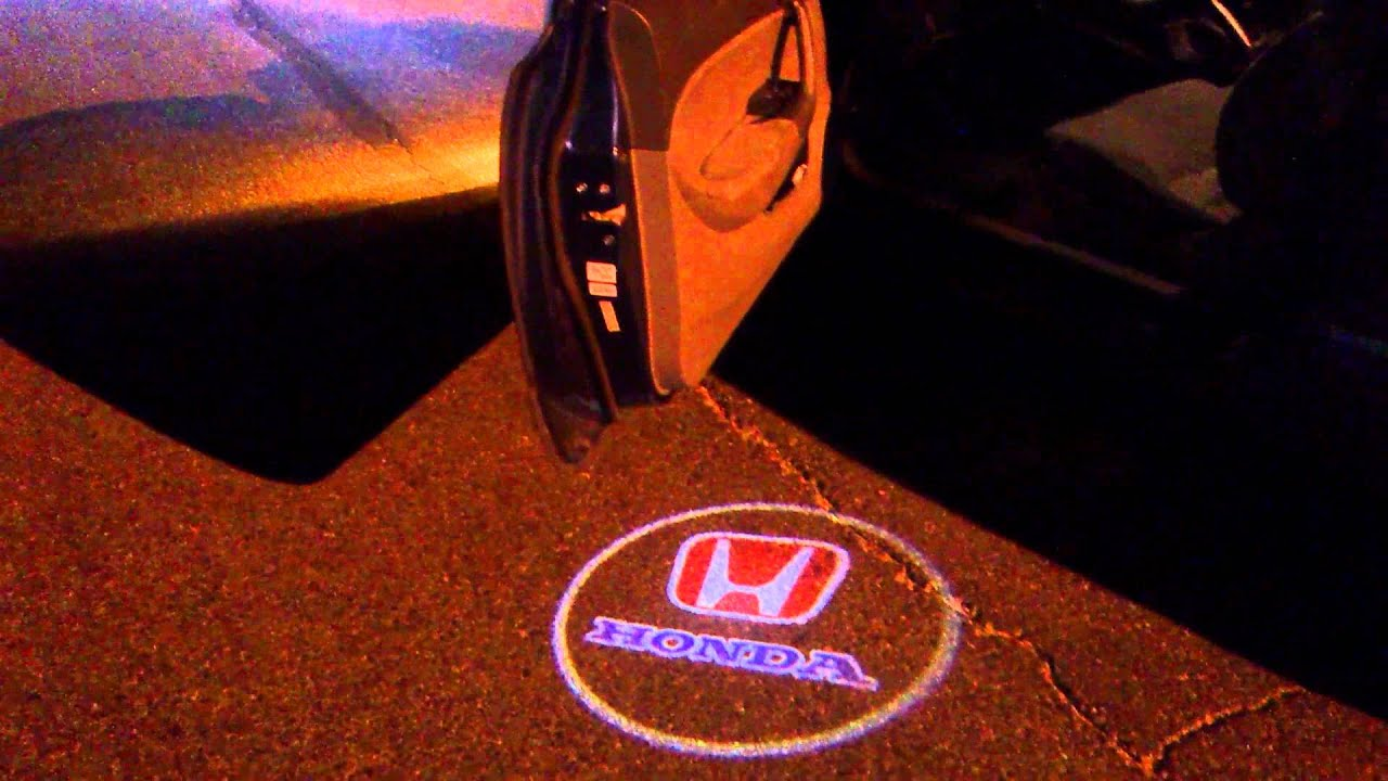 Honda Led Projector Door Logo
