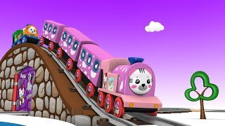 Toy Train - Train Videos - Toy Factory - Cars for Kids - Train Cartoon for Children - Choo Choo Kids