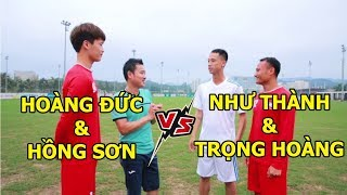 Thử Thách Bóng Đá thi sút bóng trúng đích Hồng Sơn & Hoàng Đức vs Như Thành & Trọng Hoàng
