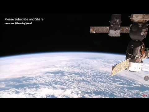 video from the international space  station