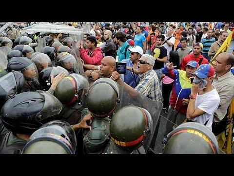 Venezuelan opposition leads marches against President Maduro