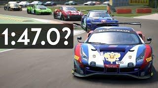 Assetto Corsa Competizione - Which Car is the Fastest so far? (At Monza)