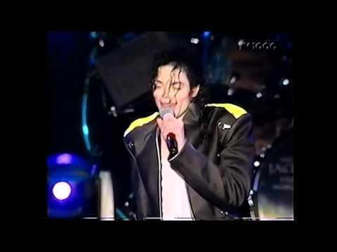 Michael Jackson - Jackson 5 Medley Live in Gothenburg 1997