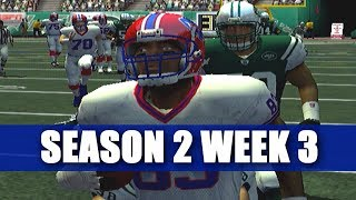 ESPN NFL 2K5 BILLS FRANCHISE - YOU AINT MOSS - VS JETS (S2W3)