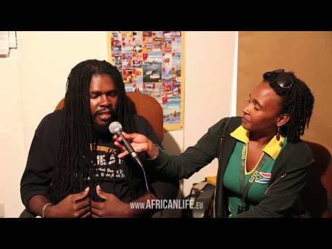 Interview Suga Roy, 03.08.2013, Reggae Jam, Bersenbrück