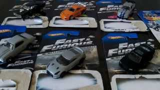 Hot Wheels The Fast and the Furious Series Set