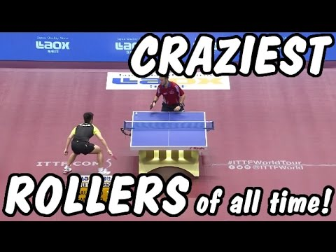 The Craziest Table Tennis ROLLERS Of All Time!