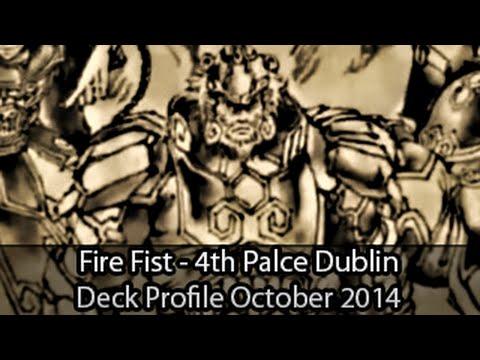 Fire Fist - 4th Place Dublin Regional Deano Mcclelland - Yugioh Deck Profile October 2014 video