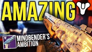 THIS *PERFECT ROLL* MINDBENDER'S AMBITION IS AMAZING!! | Destiny 2: Forsaken PvP Gameplay
