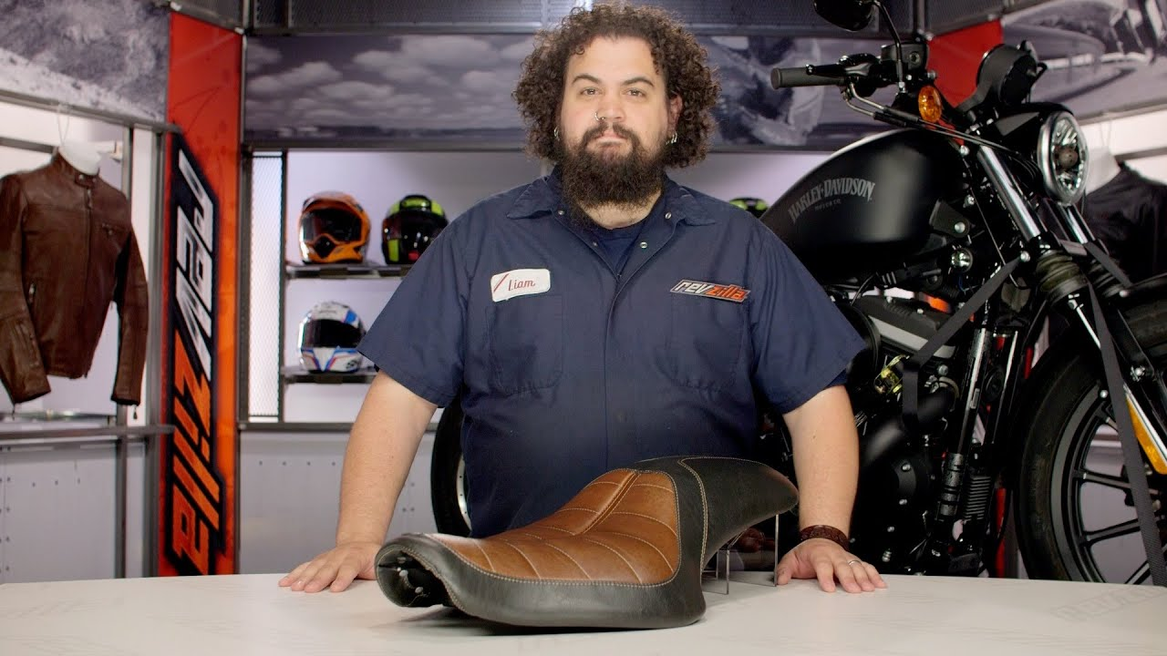 Roland Sands 2 Up Enzo Seat Review At Revzilla Com Youtube
