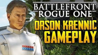 Star Wars Battlefront: Rogue One Scarif | Orson Krennic HERO Gameplay | 4k