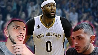 NBA PLAYER THREATENS ME IN PERSON!! (Demarcus Cousins)