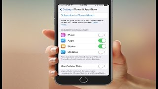 How To Enable or Disable Automatic App Updates on iphone, ipad, ipod Touch