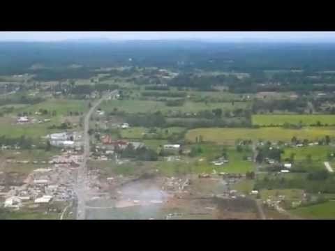April 27, 2014 Arkansas Tornado Damage in Vilonia, AR