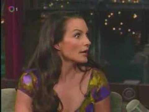 Sex & the City Kristin Davis - 5-21-08 - on Letterman part 1