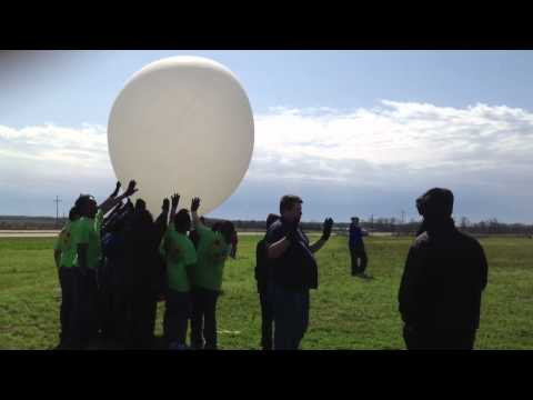 Ridgeland OTMS Balloon Launch 2011-2012