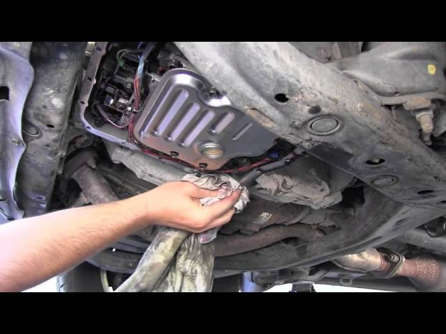 Toyota Highlander Automatic Transmission fluid and filter ...