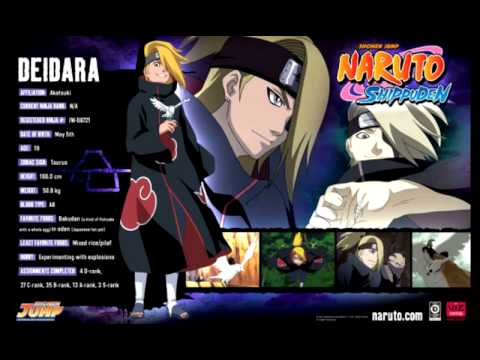 Naruto shippuden Deidara's theme